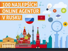 100 najlepších online agentúr v Rusku