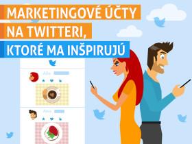 Marketingové účty na Twitteri, ktoré ma inšpirujú