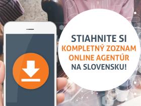 Zoznam slovenských online agentúr
