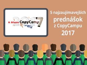 5 najzaujímavejších prednášok z CopyCampu 2017
