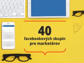 40 facebookových skupín pre marketérov