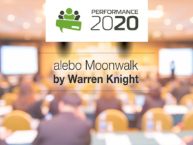 Performance 2020 alebo Moonwalk by Warren Knight