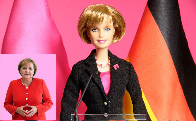 barbie Angela Merkel