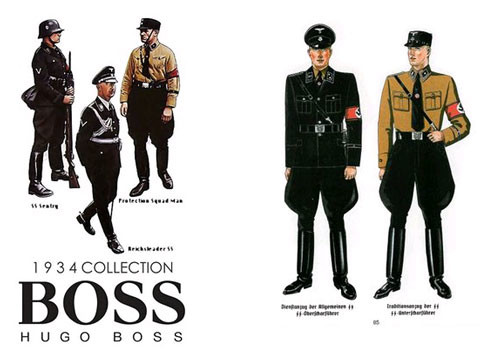 Hugo Boss Uniforms