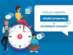 Kedy je najlepšie zdieľať príspevky na sociálnych sieťach?