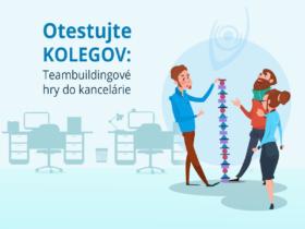 Otestujte kolegov: Teambuildingové hry do kancelárie