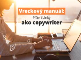 Vreckový manuál: Píšte články ako copywriter