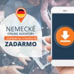 Nemecké online agentúry – zoznam na stiahnutie zadarmo