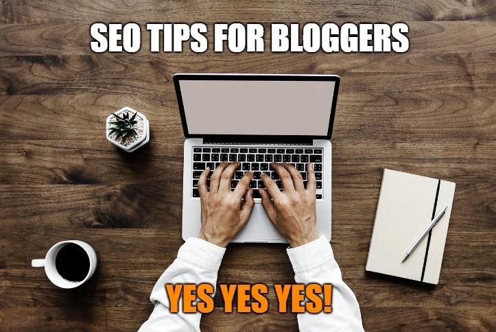 SEO tips for bloggers meme